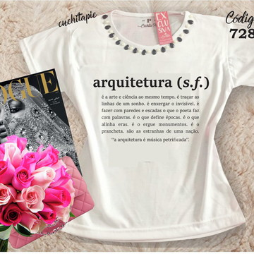 Baby Look Customizada - Arquitetura
