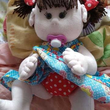 Boneca bebê de pano