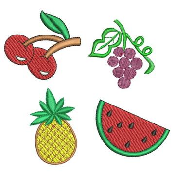 Matrizes de bordado - Frutas 001