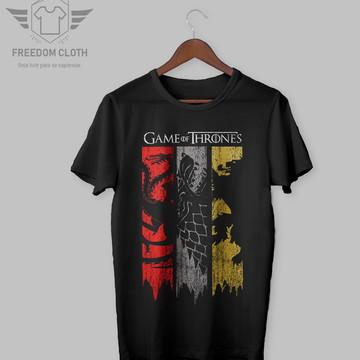 Camiseta Game Of Thones Casas