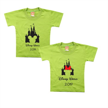 Camisetas Personalizadas Disney World Castelo Mickey Minnie