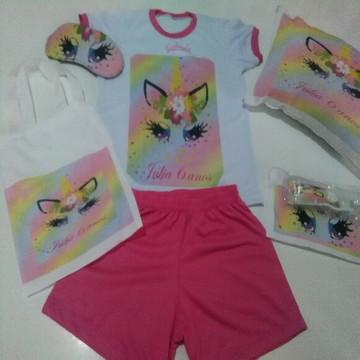 Festa do pijama INHAMA kit tema meninas