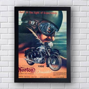 Poster Moto Retro