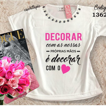 Baby Look Customizada - Artesã Artesanato