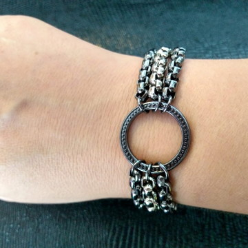 Bracelete Correntaria Círculo