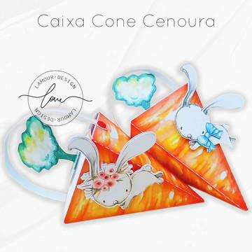 Caixa Cenoura | Arquivo de Corte