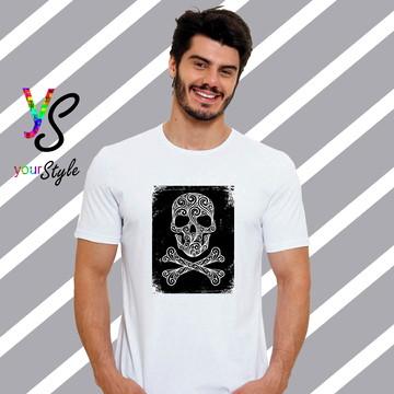 Camiseta Caveira Perigo