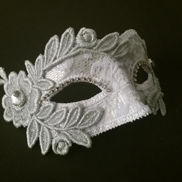 Mascara Veneziana Noiva in Silver