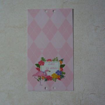 Capa Pirulito Flamingo 01272