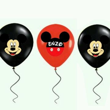 Adesivo Pra Bexiga Mickey