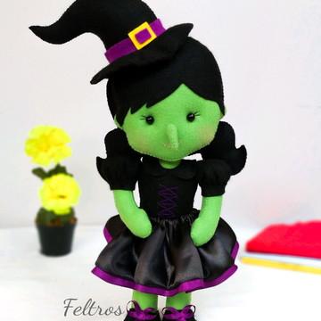 Bruxa Má do Oeste em feltro - Mágico de Oz
