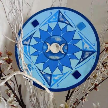 Mandala - Lua Tríplice