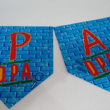 Faixa Parabens tema DPA personalizada