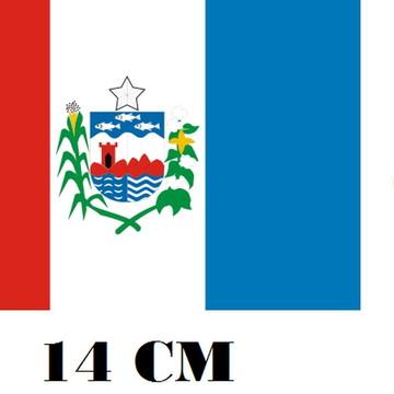 Adesivo Bandeira de Alagoas alta resistencia Frete Grátis