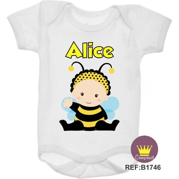 Body Abelhinha Baby