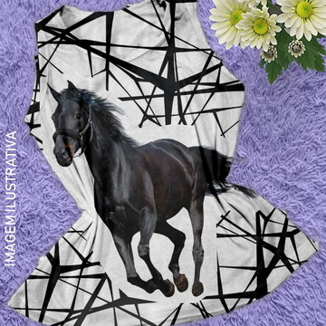 b4a8814794 Camiseta Regata Feminina Country Cavalo