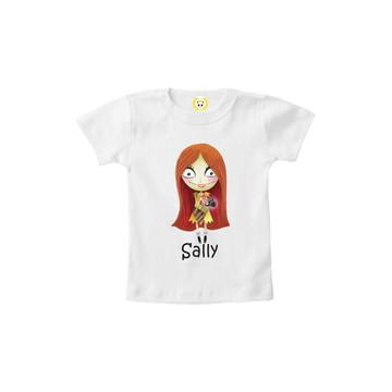 Camiseta INFANTIL O Estranho Mundo de Jack e Sally 1