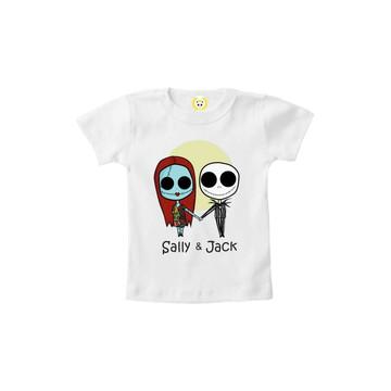 Camiseta INFANTIL O Estranho Mundo de Jack e Sally 2