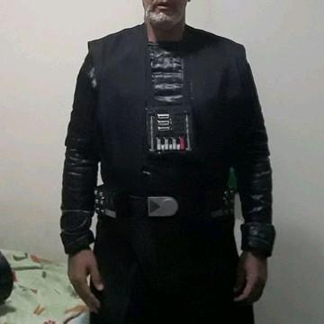 Fantasia Darth Vader cosplay de tecido
