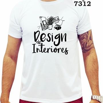 Camiseta - Design de Interiores