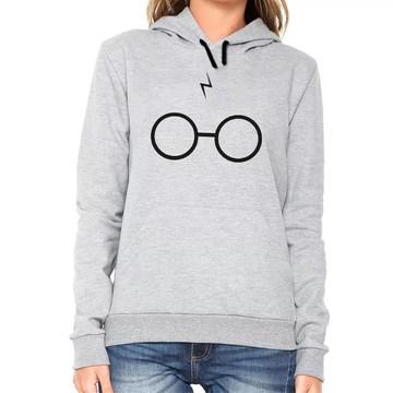Blusa De Frio Moletom Canguru Harry Potter
