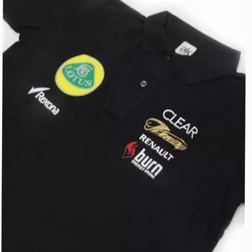 Camisa Pólo - Lotus F1 Team Racing