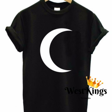 Camiseta Blogueiras Lua T-shirt Youtuber Baby look lua