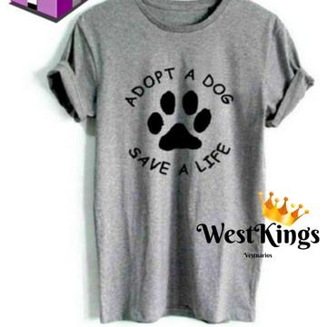 Camiseta Blogueiros Dog T-shirt Dog Baby look Amigo dog