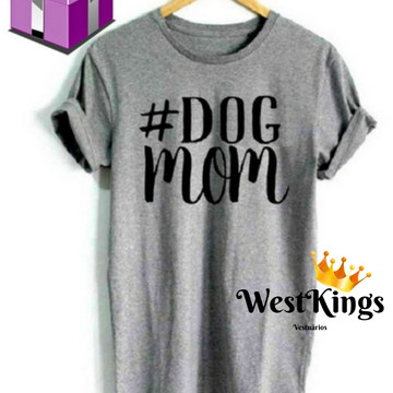 Camiseta Blogueira Dog T-shirt Animal Baby look