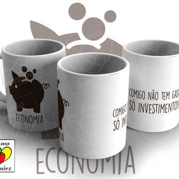 Caneca de Cerâmica - Economia
