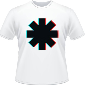 Camisa Red Hot Chili Peppers Glitch Masculina