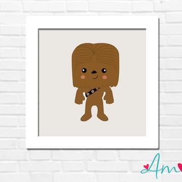 Quadro Star Wars Chewbacca