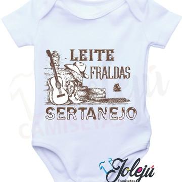 Body Bebê Sertanejo