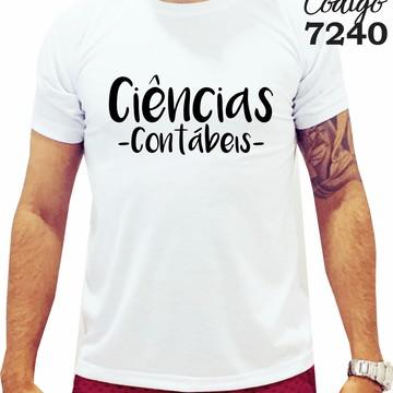 Camiseta - Ciências Contábeis