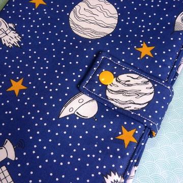 Capa para livro tema espaço sideral