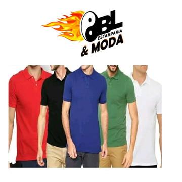 d5202fdc4b Camiseta Polo Lisa