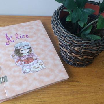 Álbum de foto para bebê personalizado e exclusivo
