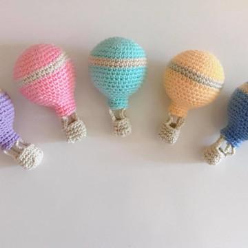 5 Balões Coloridos (Móbile)