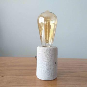 Luminária Cilindro de Concreto