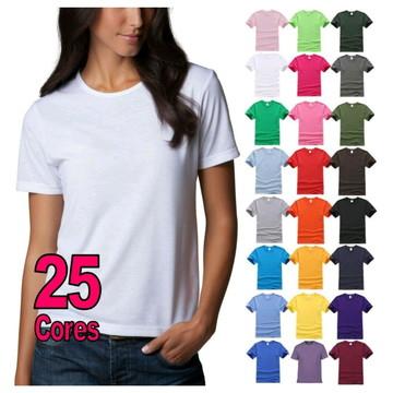 b787b1486b Camiseta baby look feminina lisa ( atacado )