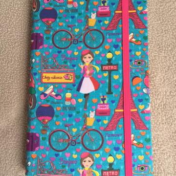 Caderno Paris personalizado