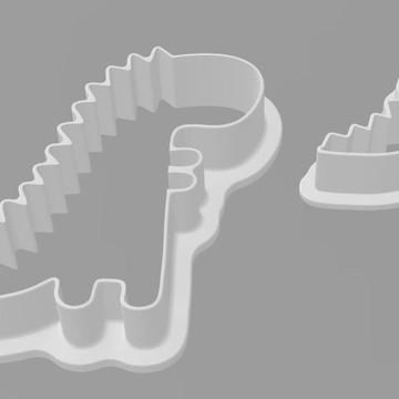 Conjunto de cortadores de biscoito personalizados