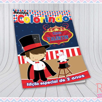 Livrinho de Colorir Circo