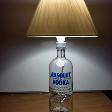 Abajur Absolut Vodka