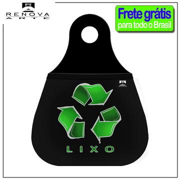 Lixinho Carro Acessório Lixo Reciclavel - Frete Gratis