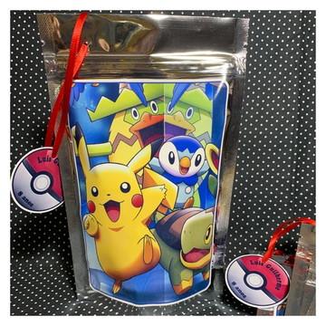 Saquinho Metalizado M - Pokémon