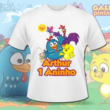Camisa Galinha Pintadinha