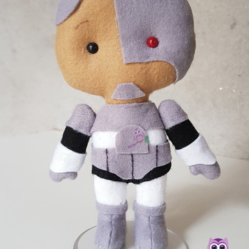 Pocket Cyborg - Jovens Titans