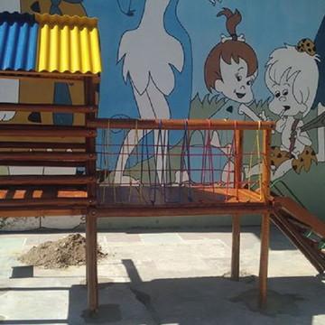 Playground Infantil Aldeota Guarujá De Eucalipto