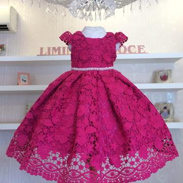 Vestido Pink -vestidos de temas infantil